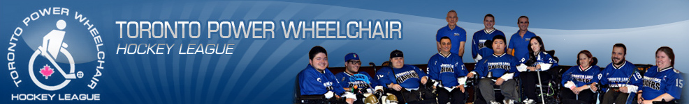 Toronto Power Wheelchair - Hockey league
